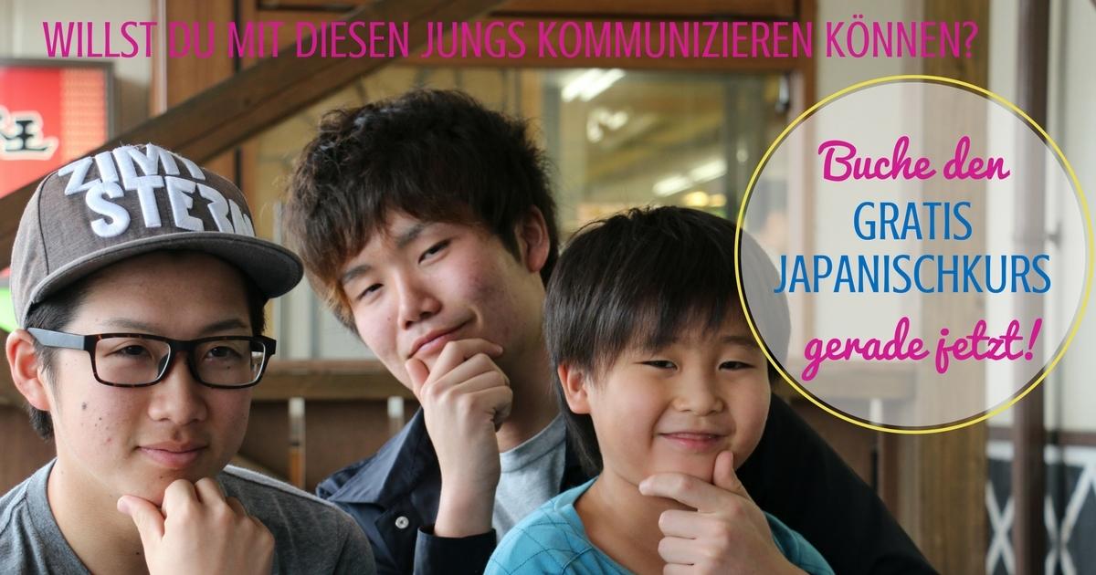 drei Japanische Jungs